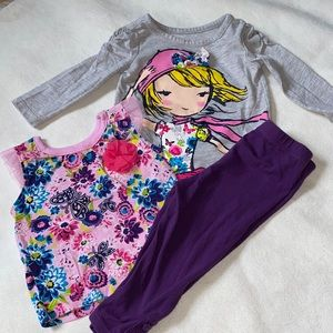 🛍Cute Girls outfit size 9-12 months 🛍